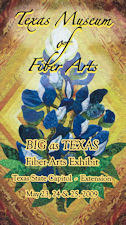 Texas Fiber Arts Exhibit Brochure Cover