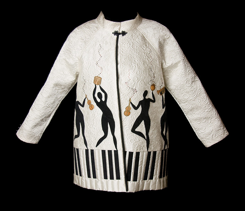Piano Dancing Coat