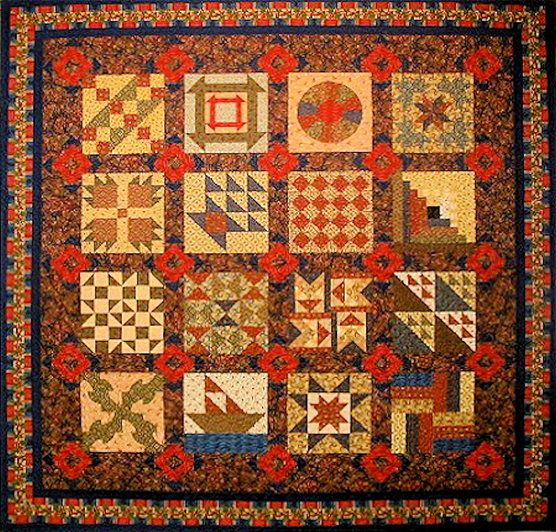 Quilt Patterns Used During The Underground Railroad : African American Quilt: November 2011